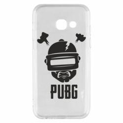 Чехол для Samsung A3 2017 PUBG: hero face