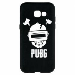 Чехол для Samsung A5 2017 PUBG: hero face