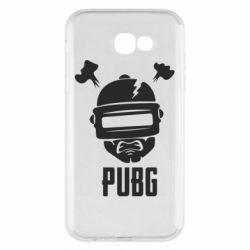 Чехол для Samsung A7 2017 PUBG: hero face