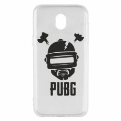 Чехол для Samsung J5 2017 PUBG: hero face