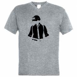 Чоловіча футболка з V-подібним вирізом PUBG Hero Men's
