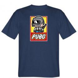 Мужская футболка PUBG LEGO