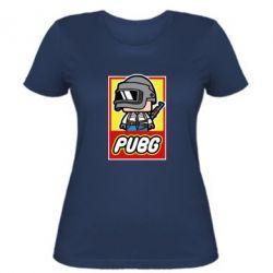 Женская футболка PUBG LEGO