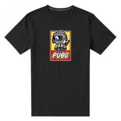 Мужская стрейчевая футболка PUBG LEGO
