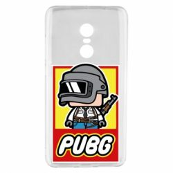 Чехол для Xiaomi Redmi Note 4 PUBG LEGO