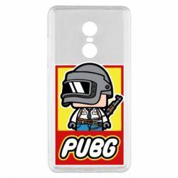 Чехол для Xiaomi Redmi Note 4x PUBG LEGO