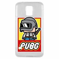 Чехол для Samsung S5 PUBG LEGO