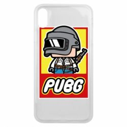 Чехол для iPhone Xs Max PUBG LEGO