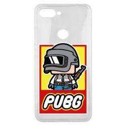 Чехол для Xiaomi Mi8 Lite PUBG LEGO