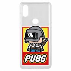 Чехол для Xiaomi Mi Mix 3 PUBG LEGO