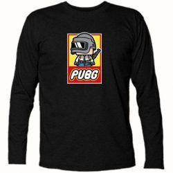 Футболка с длинным рукавом PUBG LEGO