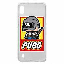 Чехол для Samsung A10 PUBG LEGO