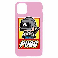 Чехол для iPhone 11 PUBG LEGO