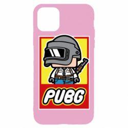 Чехол для iPhone 11 Pro PUBG LEGO