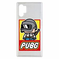 Чехол для Samsung Note 10 Plus PUBG LEGO