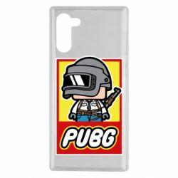 Чехол для Samsung Note 10 PUBG LEGO
