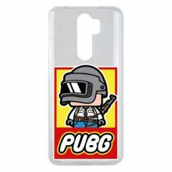 Чехол для Xiaomi Redmi Note 8 Pro PUBG LEGO