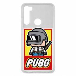 Чехол для Xiaomi Redmi Note 8 PUBG LEGO
