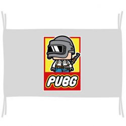 Флаг PUBG LEGO