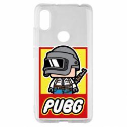 Чехол для Xiaomi Redmi S2 PUBG LEGO