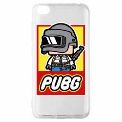 Чехол для Xiaomi Redmi Go PUBG LEGO