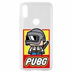 Чехол для Xiaomi Mi Play PUBG LEGO