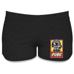Женские шорты PUBG LEGO