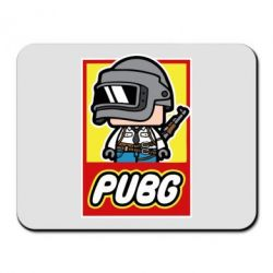 Коврик для мыши PUBG LEGO