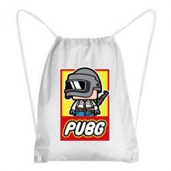 Рюкзак-мешок PUBG LEGO