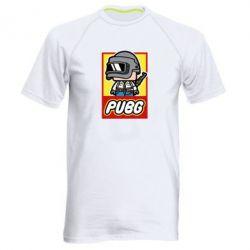 Мужская спортивная футболка PUBG LEGO