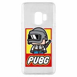 Чехол для Samsung S9 PUBG LEGO