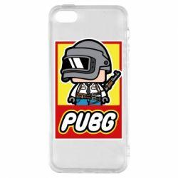 Чехол для iPhone5/5S/SE PUBG LEGO