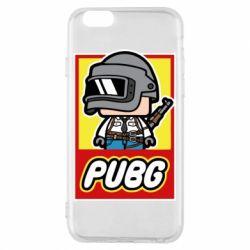 Чехол для iPhone 6/6S PUBG LEGO
