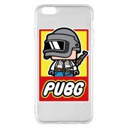 Чехол для iPhone 6 Plus/6S Plus PUBG LEGO
