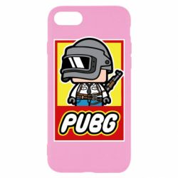 Чехол для iPhone 7 PUBG LEGO
