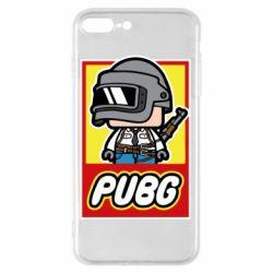 Чехол для iPhone 8 Plus PUBG LEGO