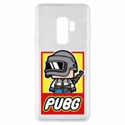 Чехол для Samsung S9+ PUBG LEGO