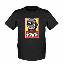 Детская футболка PUBG LEGO