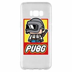 Чехол для Samsung S8+ PUBG LEGO