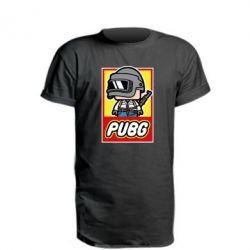 Удлиненная футболка PUBG LEGO