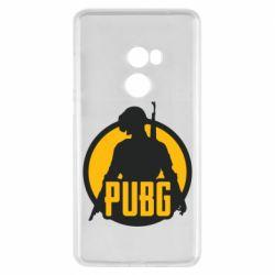 Чехол для Xiaomi Mi Mix 2 PUBG logo and game hero