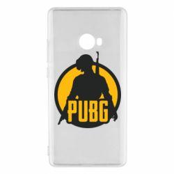 Чехол для Xiaomi Mi Note 2 PUBG logo and game hero
