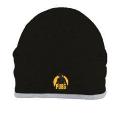 Шапка PUBG logo and game hero