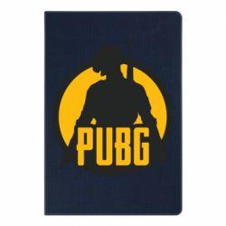 Блокнот А5 PUBG logo and game hero