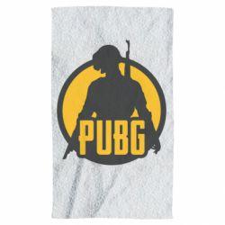 Полотенце PUBG logo and game hero