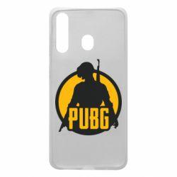 Чехол для Samsung A60 PUBG logo and game hero