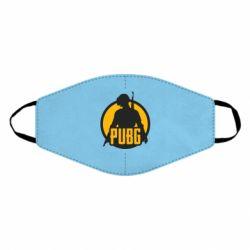 Маска для лица PUBG logo and game hero