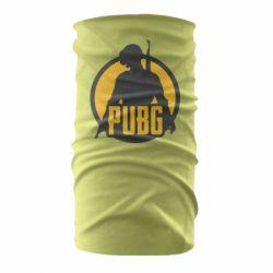 Бандана-труба PUBG logo and game hero