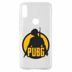 Чехол для Xiaomi Mi Play PUBG logo and game hero