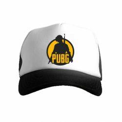 Детская кепка-тракер PUBG logo and game hero